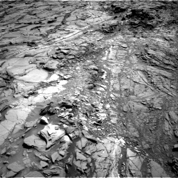 Nasa's Mars rover Curiosity acquired this image using its Right Navigation Camera on Sol 1083, at drive 1402, site number 49