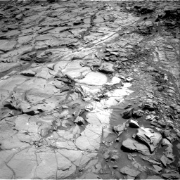 Nasa's Mars rover Curiosity acquired this image using its Right Navigation Camera on Sol 1083, at drive 1408, site number 49