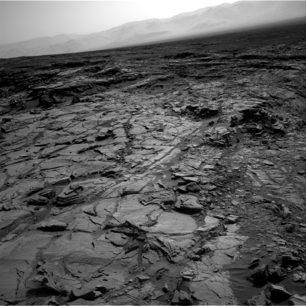 Nasa's Mars rover Curiosity acquired this image using its Right Navigation Camera on Sol 1083, at drive 1420, site number 49