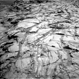 Nasa's Mars rover Curiosity acquired this image using its Left Navigation Camera on Sol 1085, at drive 1426, site number 49