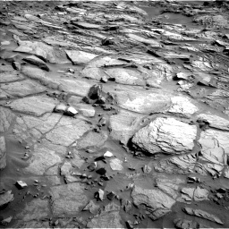 Nasa's Mars rover Curiosity acquired this image using its Left Navigation Camera on Sol 1085, at drive 1474, site number 49