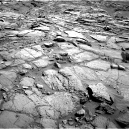 Nasa's Mars rover Curiosity acquired this image using its Left Navigation Camera on Sol 1085, at drive 1486, site number 49