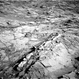 Nasa's Mars rover Curiosity acquired this image using its Left Navigation Camera on Sol 1085, at drive 1534, site number 49