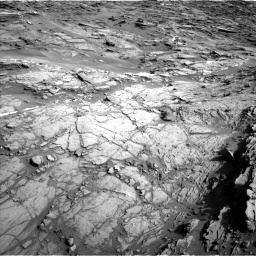 Nasa's Mars rover Curiosity acquired this image using its Left Navigation Camera on Sol 1085, at drive 1546, site number 49