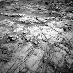 Nasa's Mars rover Curiosity acquired this image using its Left Navigation Camera on Sol 1085, at drive 1552, site number 49