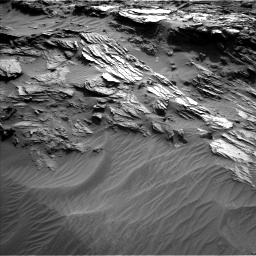 Nasa's Mars rover Curiosity acquired this image using its Left Navigation Camera on Sol 1085, at drive 1654, site number 49