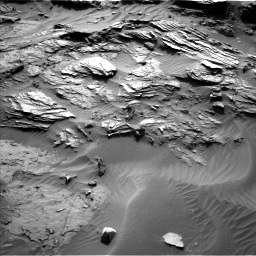 Nasa's Mars rover Curiosity acquired this image using its Left Navigation Camera on Sol 1085, at drive 1666, site number 49