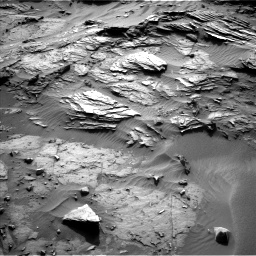 Nasa's Mars rover Curiosity acquired this image using its Left Navigation Camera on Sol 1085, at drive 1672, site number 49