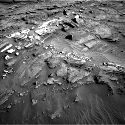 Nasa's Mars rover Curiosity acquired this image using its Left Navigation Camera on Sol 1085, at drive 1792, site number 49