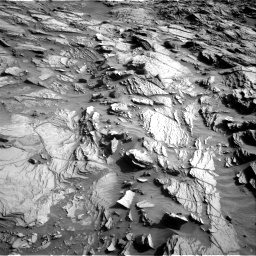 Nasa's Mars rover Curiosity acquired this image using its Right Navigation Camera on Sol 1085, at drive 1456, site number 49