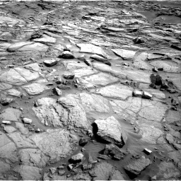 Nasa's Mars rover Curiosity acquired this image using its Right Navigation Camera on Sol 1085, at drive 1486, site number 49