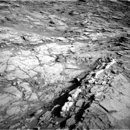 Nasa's Mars rover Curiosity acquired this image using its Right Navigation Camera on Sol 1085, at drive 1540, site number 49