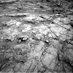 Nasa's Mars rover Curiosity acquired this image using its Right Navigation Camera on Sol 1085, at drive 1558, site number 49