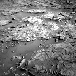 Nasa's Mars rover Curiosity acquired this image using its Right Navigation Camera on Sol 1085, at drive 1570, site number 49
