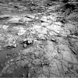 Nasa's Mars rover Curiosity acquired this image using its Right Navigation Camera on Sol 1085, at drive 1576, site number 49