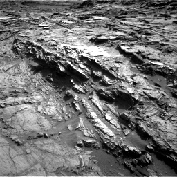 Nasa's Mars rover Curiosity acquired this image using its Right Navigation Camera on Sol 1085, at drive 1588, site number 49