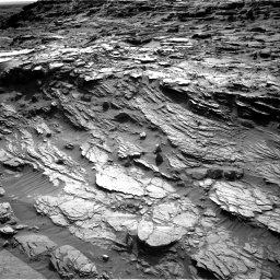 Nasa's Mars rover Curiosity acquired this image using its Right Navigation Camera on Sol 1085, at drive 1636, site number 49