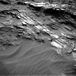 Nasa's Mars rover Curiosity acquired this image using its Right Navigation Camera on Sol 1085, at drive 1654, site number 49