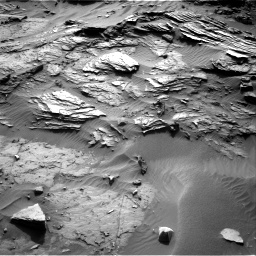 Nasa's Mars rover Curiosity acquired this image using its Right Navigation Camera on Sol 1085, at drive 1672, site number 49