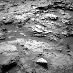 Nasa's Mars rover Curiosity acquired this image using its Right Navigation Camera on Sol 1085, at drive 1678, site number 49