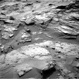 Nasa's Mars rover Curiosity acquired this image using its Right Navigation Camera on Sol 1085, at drive 1684, site number 49