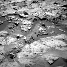 Nasa's Mars rover Curiosity acquired this image using its Right Navigation Camera on Sol 1085, at drive 1690, site number 49