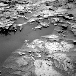 Nasa's Mars rover Curiosity acquired this image using its Right Navigation Camera on Sol 1085, at drive 1702, site number 49