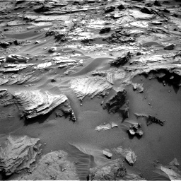 Nasa's Mars rover Curiosity acquired this image using its Right Navigation Camera on Sol 1085, at drive 1720, site number 49