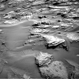 Nasa's Mars rover Curiosity acquired this image using its Right Navigation Camera on Sol 1085, at drive 1726, site number 49