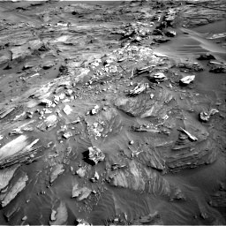 Nasa's Mars rover Curiosity acquired this image using its Right Navigation Camera on Sol 1085, at drive 1744, site number 49