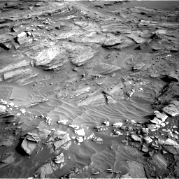 Nasa's Mars rover Curiosity acquired this image using its Right Navigation Camera on Sol 1085, at drive 1780, site number 49