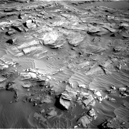 Nasa's Mars rover Curiosity acquired this image using its Right Navigation Camera on Sol 1085, at drive 1786, site number 49