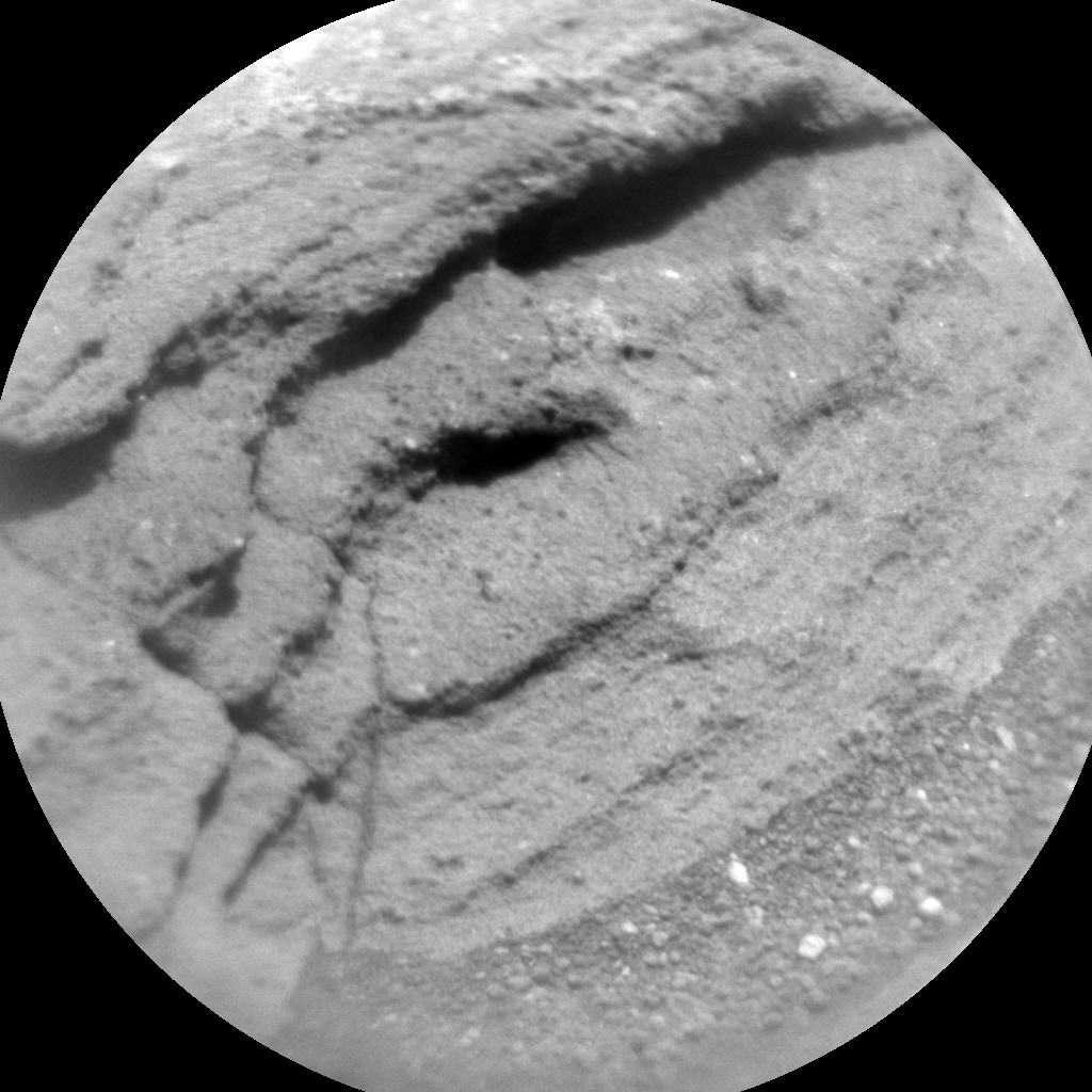 Nasa's Mars rover Curiosity acquired this image using its Chemistry & Camera (ChemCam) on Sol 1085, at drive 1420, site number 49