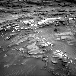 Nasa's Mars rover Curiosity acquired this image using its Left Navigation Camera on Sol 1087, at drive 1822, site number 49