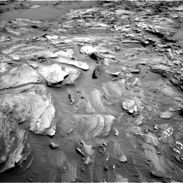 Nasa's Mars rover Curiosity acquired this image using its Left Navigation Camera on Sol 1087, at drive 1858, site number 49