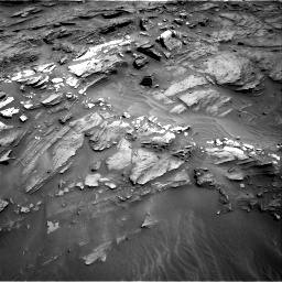 Nasa's Mars rover Curiosity acquired this image using its Right Navigation Camera on Sol 1087, at drive 1798, site number 49