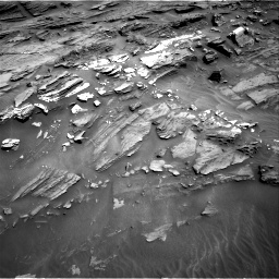 Nasa's Mars rover Curiosity acquired this image using its Right Navigation Camera on Sol 1087, at drive 1804, site number 49