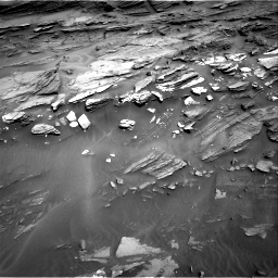 Nasa's Mars rover Curiosity acquired this image using its Right Navigation Camera on Sol 1087, at drive 1810, site number 49