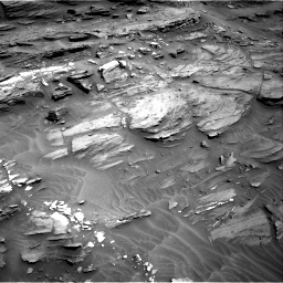Nasa's Mars rover Curiosity acquired this image using its Right Navigation Camera on Sol 1087, at drive 1828, site number 49