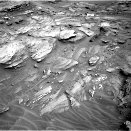 Nasa's Mars rover Curiosity acquired this image using its Right Navigation Camera on Sol 1087, at drive 1834, site number 49