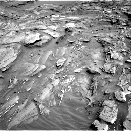 Nasa's Mars rover Curiosity acquired this image using its Right Navigation Camera on Sol 1087, at drive 1840, site number 49