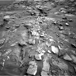 Nasa's Mars rover Curiosity acquired this image using its Right Navigation Camera on Sol 1087, at drive 1846, site number 49