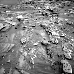 Nasa's Mars rover Curiosity acquired this image using its Right Navigation Camera on Sol 1087, at drive 1852, site number 49