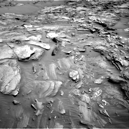 Nasa's Mars rover Curiosity acquired this image using its Right Navigation Camera on Sol 1087, at drive 1858, site number 49