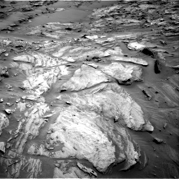 Nasa's Mars rover Curiosity acquired this image using its Right Navigation Camera on Sol 1087, at drive 1870, site number 49