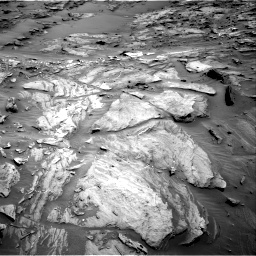 Nasa's Mars rover Curiosity acquired this image using its Right Navigation Camera on Sol 1087, at drive 1876, site number 49