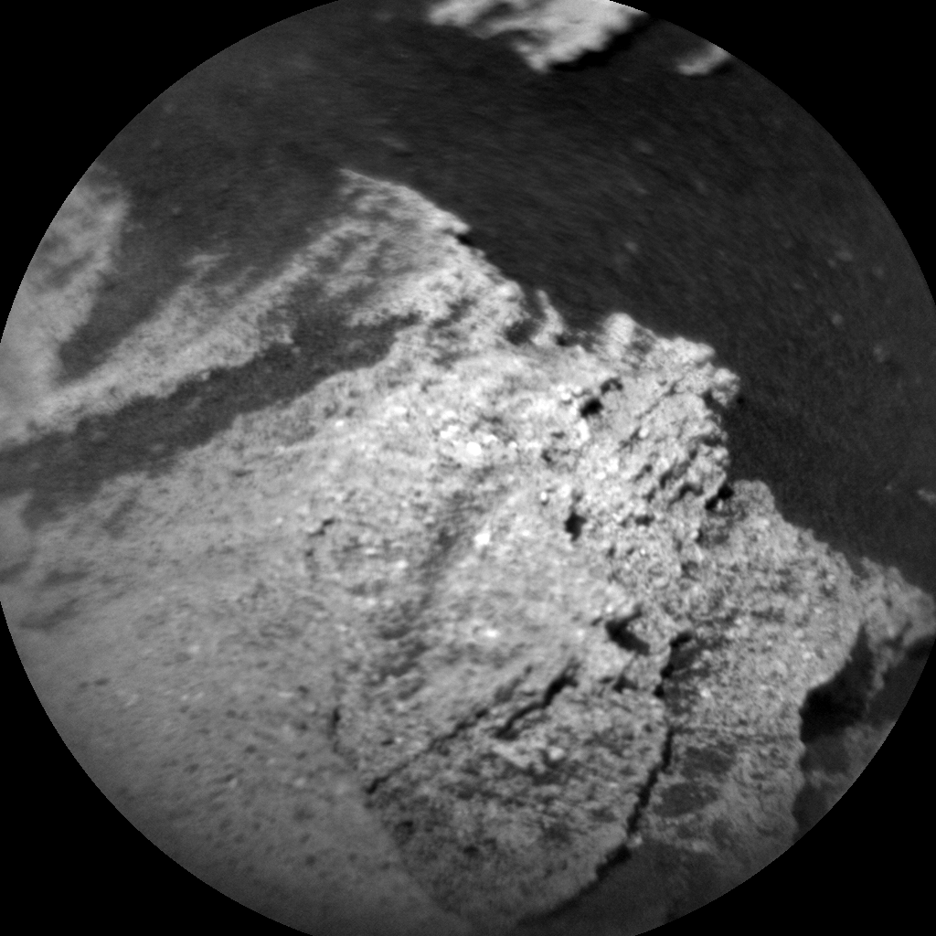 Nasa's Mars rover Curiosity acquired this image using its Chemistry & Camera (ChemCam) on Sol 1087, at drive 1798, site number 49
