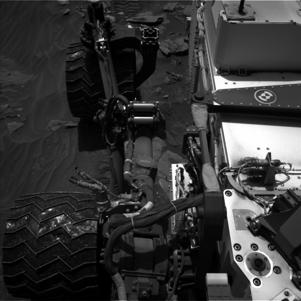 Nasa's Mars rover Curiosity acquired this image using its Left Navigation Camera on Sol 1090, at drive 1876, site number 49