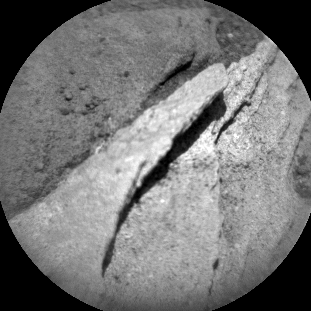 Nasa's Mars rover Curiosity acquired this image using its Chemistry & Camera (ChemCam) on Sol 1090, at drive 1876, site number 49