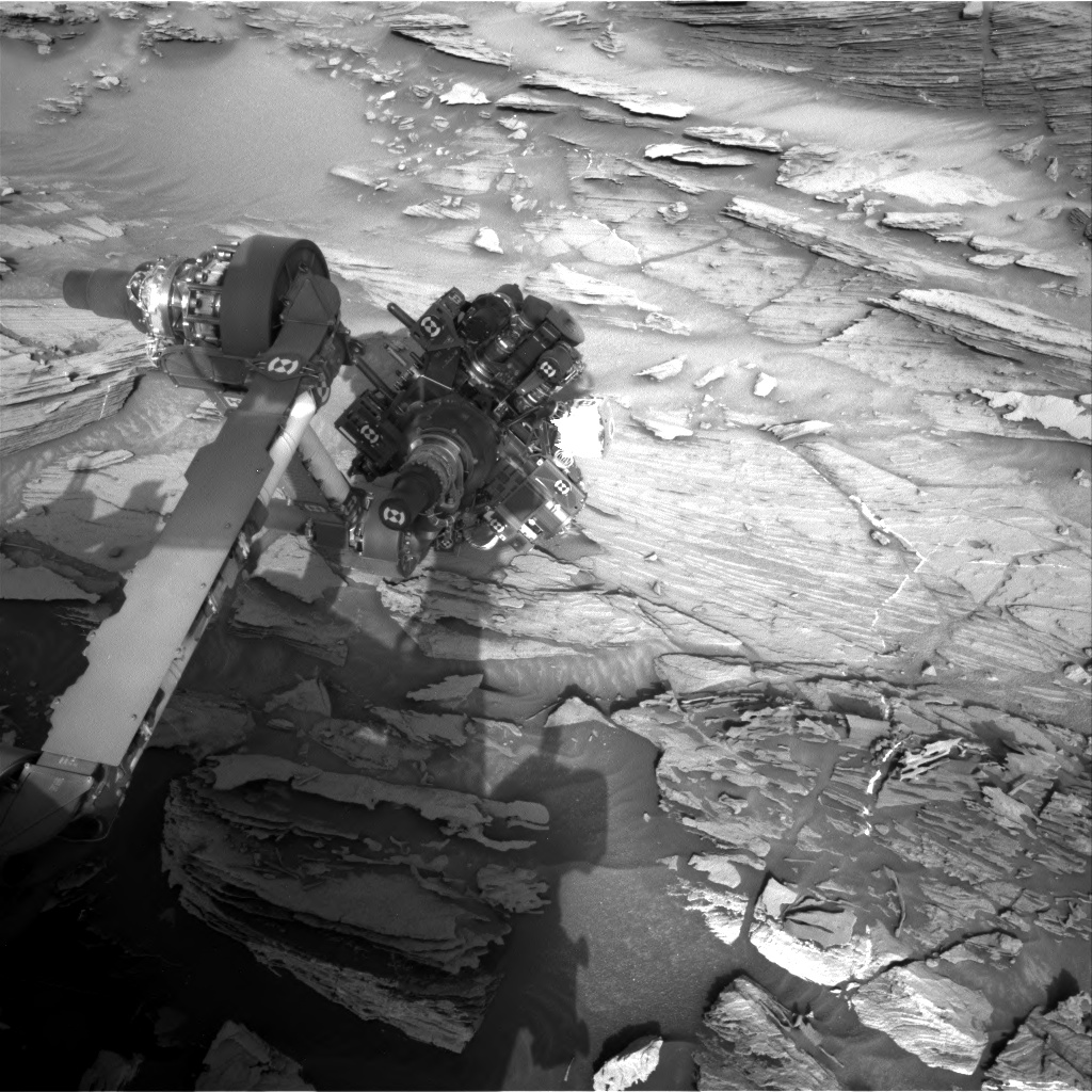 Nasa's Mars rover Curiosity acquired this image using its Right Navigation Camera on Sol 1092, at drive 1876, site number 49